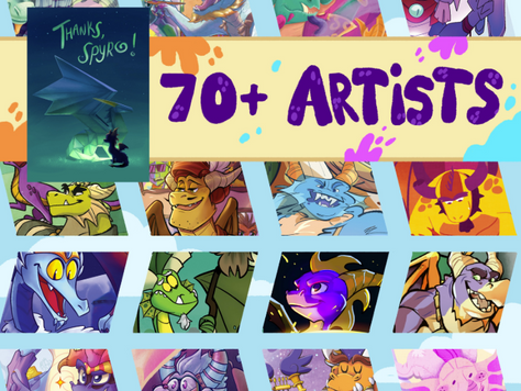 Thanks Spyro! Zine and other news