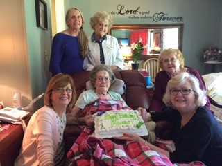 Carole's mother in hospice care