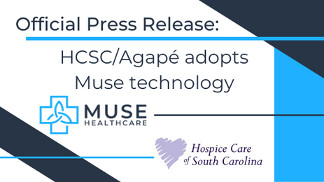 Hospice of South Carolina/Agapé Hospice Adopts Muse's Predictive Modeling Technology