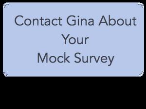 Mock survey button