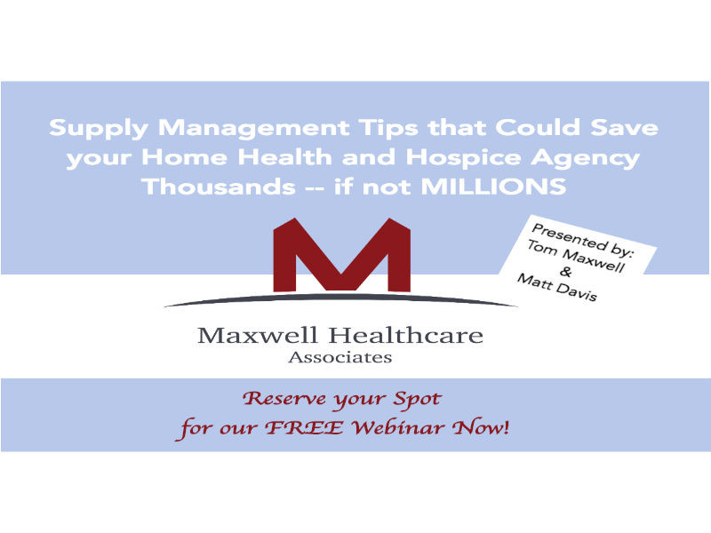 home health supply management tips