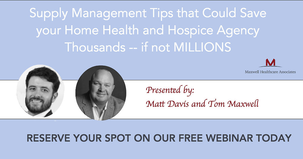 Home health and hospice supply management webinar