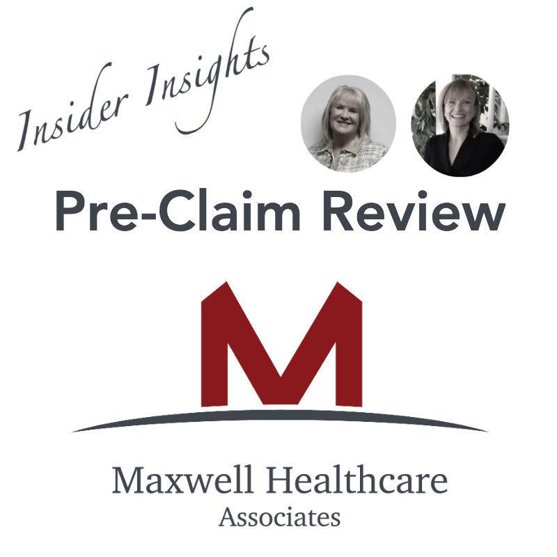 Maxwell Healthcare Associates Pre Claim Review