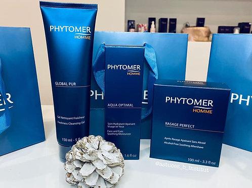 Coffret 3 produits  Phytomer Homme + 1 Soin visage offert