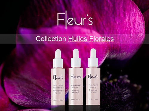 Huile florale hydratante
