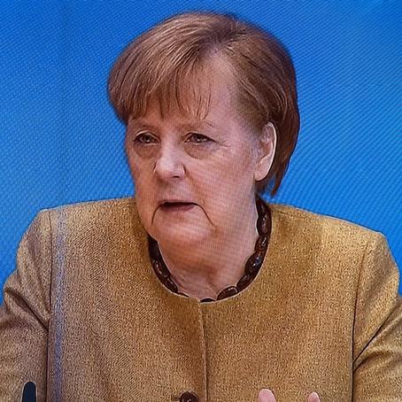 """#Merkel sieht Anzeichen für """"Entspannung"""" der Corona-Lage"""
