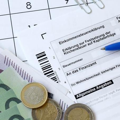 #Steuererklärung 2020: Abgabefrist wird verlängert