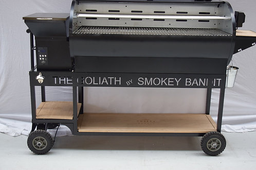 SMOKEY BANDIT THE GOLIATH PELLET SMOKER VOOR DE PROFESSIONAL