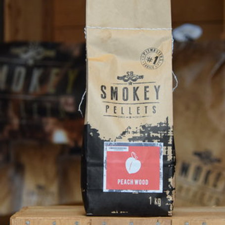SMOKEY BANDIT PEACH WOOD PELLETS