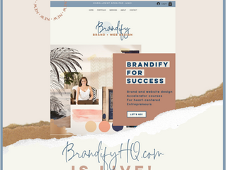 My New Business, Brandify, has officially LAUNCHED!