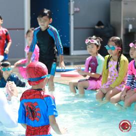 Swimming Classes have begun!