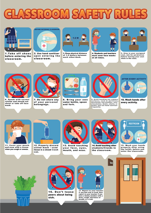 Classroom Safety Rules