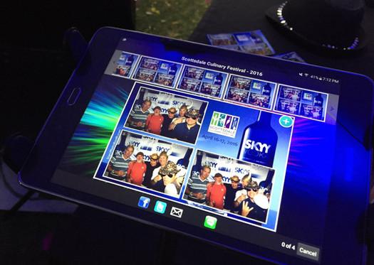 Digital Sharing on iPad