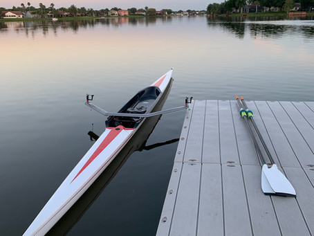 Crew Trains at Florida Rowing Center