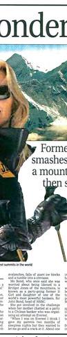 Annabelle Bond - Evening Standard 24 May