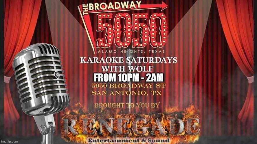 Karaoke Event Flyer