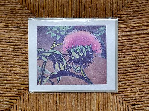 Mabel Royds 'Artichoke' card
