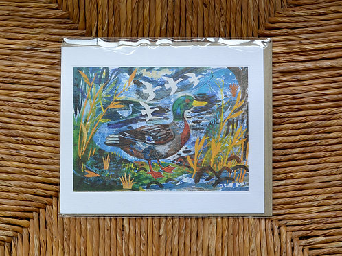 Mark Hearld Duck card