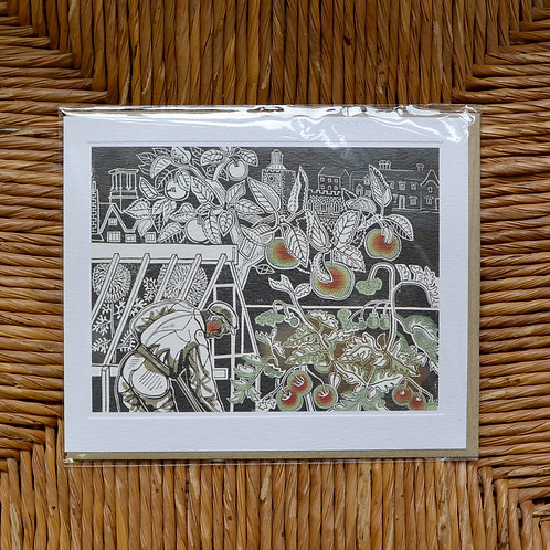 Edward Bawden Autumn Card