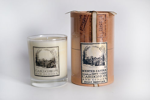 Glass Candle No.53 Cardamom and Ginger
