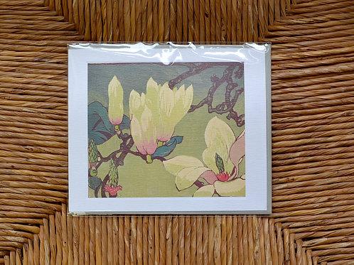 Mabel Royds 'Magnolia' card