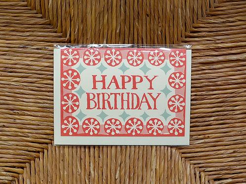 Cambridge Imprint 'Happy Birthday' card