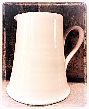 Simple Creamware  Large Jug