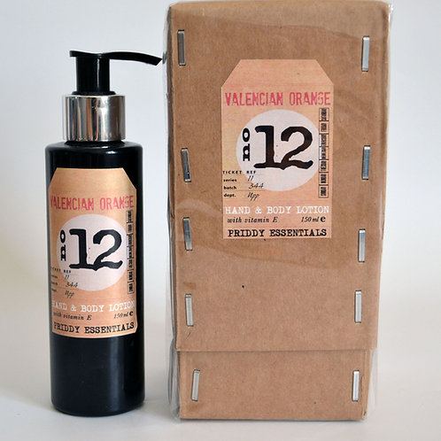 Body Lotion No.12 Valencian Orange