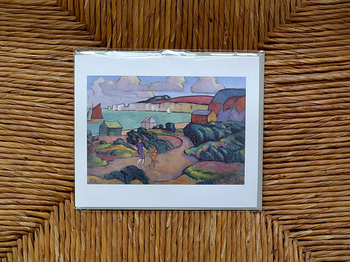 Roger Fry 'Studland Bay' Card