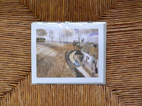 Edward Bawden Waltham Cross Card