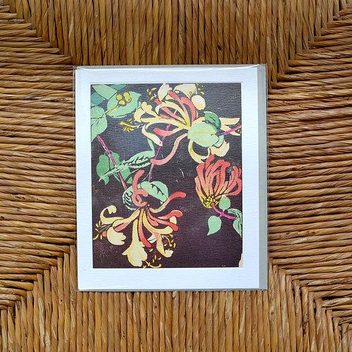 Mabel Royds 'Honeysuckle' card