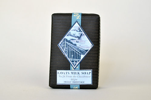 Goats Milk Soap No.28 From the Glasshouse 80g