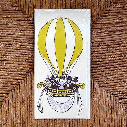 Cambridge Imprint 'Hurrah' card