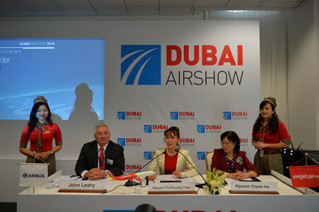Vietjet orders another 30 new A321 aircraft at Dubai Airshow 2015
