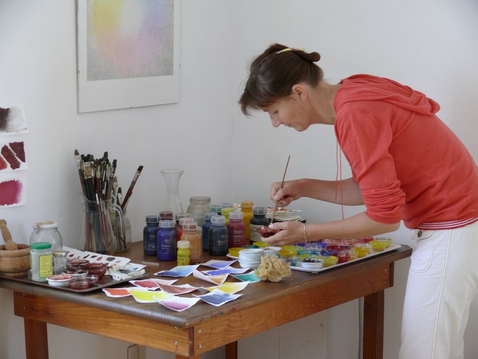 ANTHROPOSOPHIC CENTER-PAINTING WORKSHOP-0