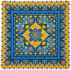 """Midnight in Morocco - """"75 x """"75"""