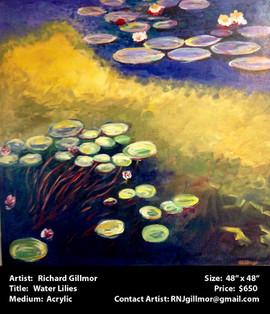 Gillmor.Richard - Water Lilies.jpg