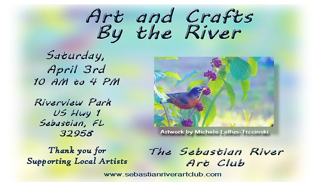 2021 Art and Crafts by the River April 3