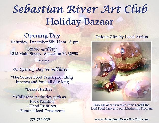 2020 Holiday Bazaar Flyer Opening Day.jp