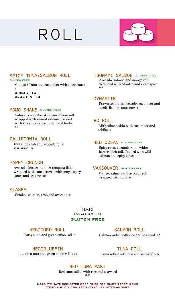 Globefish Sushi Rolls