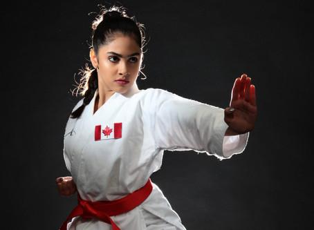 Mahta Gharaei: Young Iranian-Canadian Karate-ka