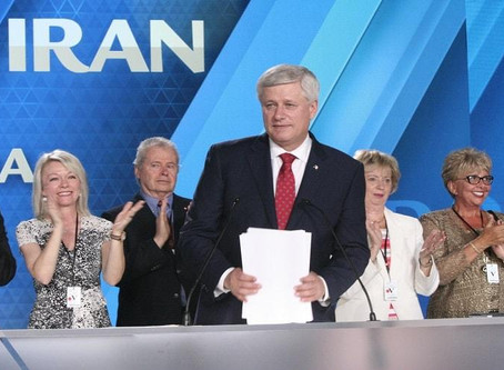 Stephen Harper attended the Mujahedin-e-Khalq (MEK) annual gathering for the second consecutive year