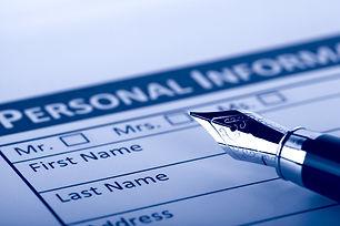 Filling Document Form - Paperwork, offic