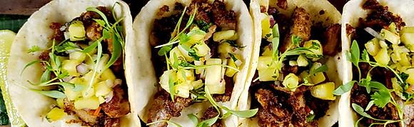 Mexican Street Tacos (4 per order)