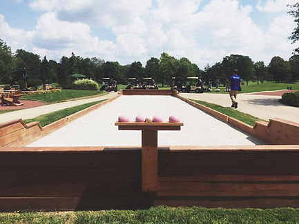 Bocce Ball Bar Curling Court Bags