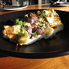 Seasonal Salad of Roasted Cauliflower