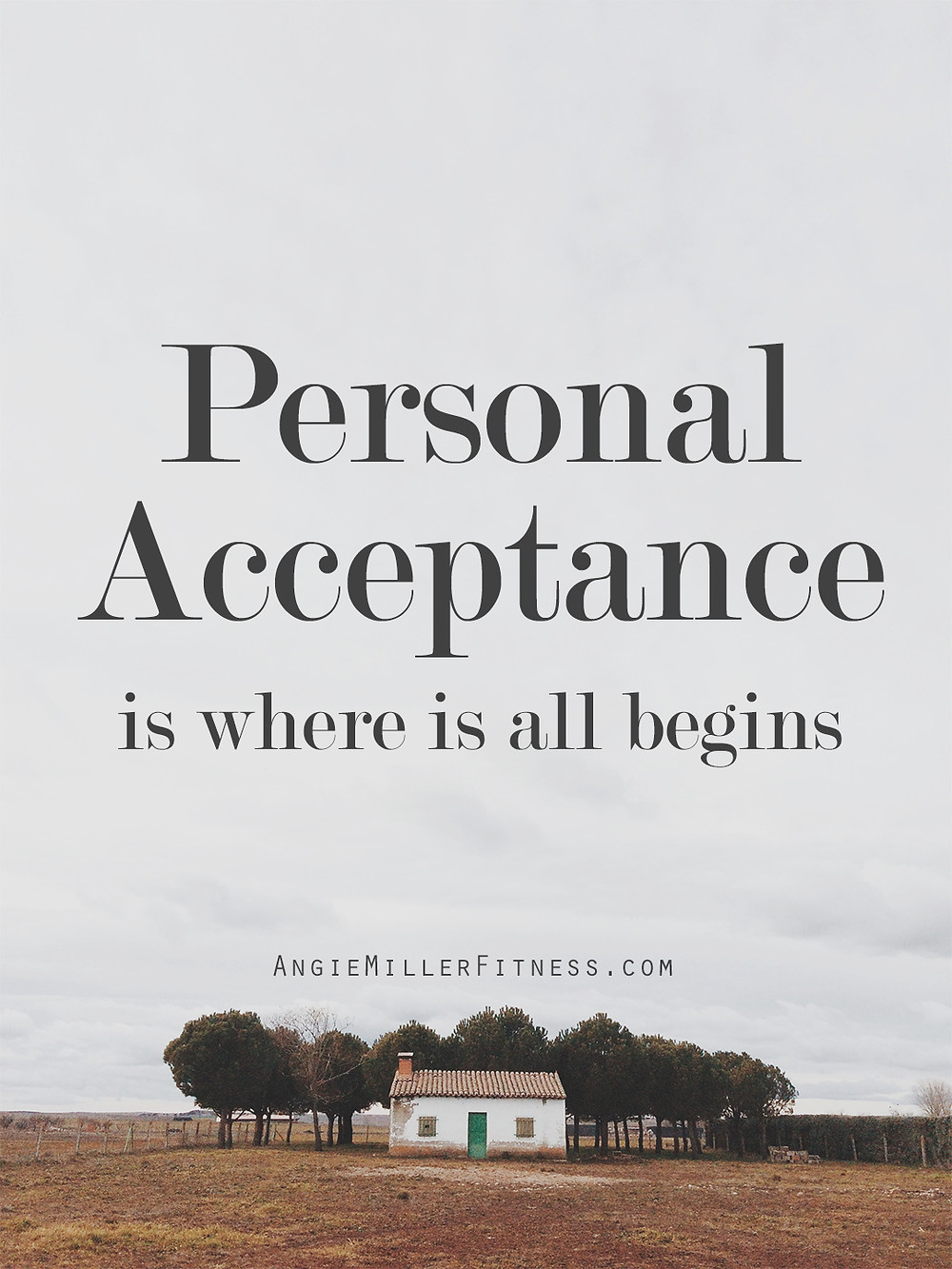 Personal Acceptance, Angie Miller