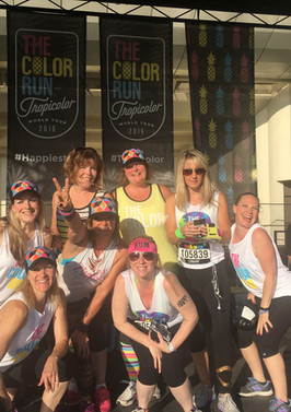 The Chicago Color Run Warmup