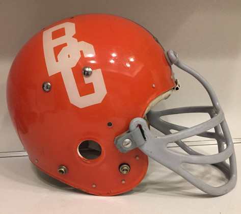 1968 Bowling Green Football Helmet MacGregor with Dungard
