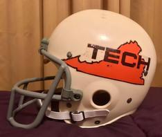 1973 Virginia Tech Gobblers Riddell TK-2